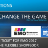 Get your free ticket for EMO 2017 and experience the digital and flexible Shopfloor with NCSIMUL