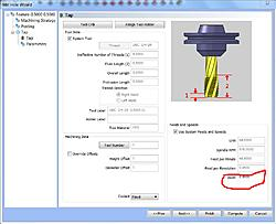 BobCad-Cam > Tapping with G84