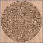 Click image for larger version.  Name:Aztec Calendar at .05 start depth.JPG Views:53 Size:263.8 KB ID:161119