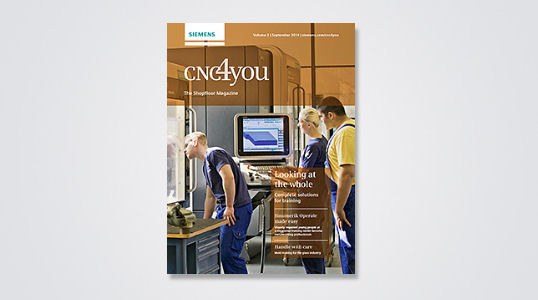 Looking at the whole - New CNC4you magazine