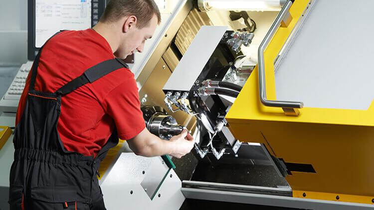 Turning machine (lathe)